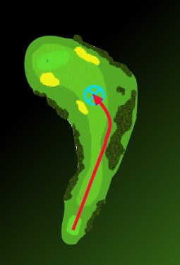 How and Why Weigh Risk Reward to Handle Dogleg Holes