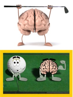 Mental Side of Golf – Find On-Course Mood That Works Best for You