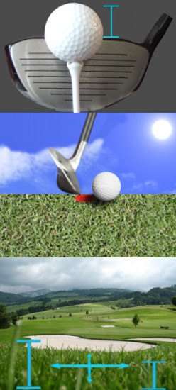 Accuracy and the Lie of the Golf Ball