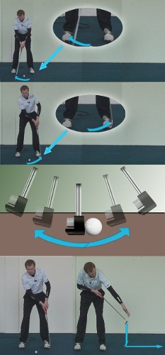 Three Way's How to Hit the Putter Sweet Spot