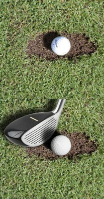 Hybrid Golf Clubs a Good Choice Out of Divots?