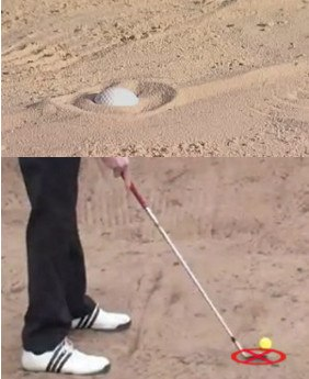 Check Greens Break Before Lining Up Bunker Shots