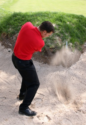 How Much Sand Should I Take for the Perfect Golf Bunker Shot?