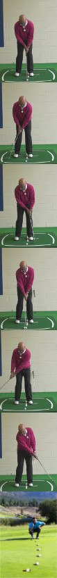 Staying Disciplined With Your Eyes for Best Putting Results