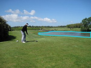 Hit Over Hazards to Set Up Shorter Approach Shots