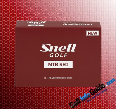 Snell Golf MTB Red Golf Ball Review