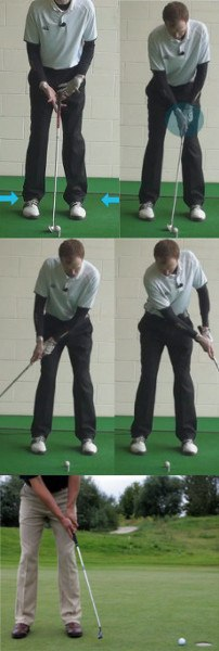 Some Practice Ideas For Chipping On Fast Greens
