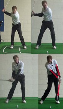 The Handle in the Downswing and at Impact