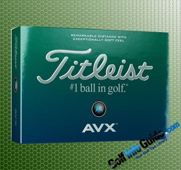 The New Titleist AVX Golf Balls Have Arrived