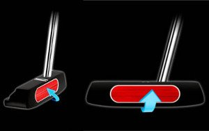 Why Due Some Putter Faces Have the Sweet Spot Covered With a Different Material