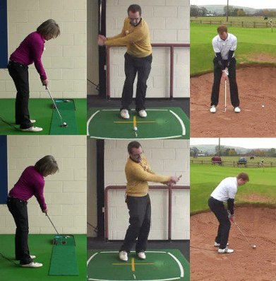 Shoulder Alignment in the Short Game