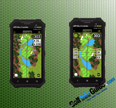 SkyCaddie Reveals Their Most Powerful Handheld GPS Device To Date: SX500