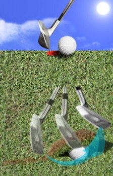 Stop Hitting Golf Wedge Shots Fat Heavy Behind the Ball