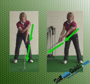 Lead With Your Left Shoulder To Start The Golf Swing Video