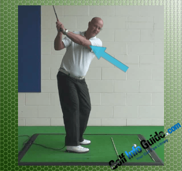 The Simple Role of the Left Elbow in the Golf Swing