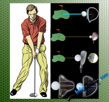 Where Should Head Be at Impact in Relation to the Golf Ball with Different Clubs