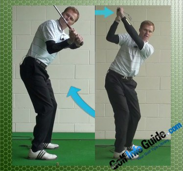 What is the Correct Hand Rotation Technique in the Backswing?