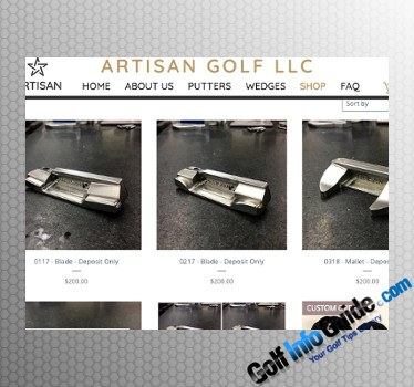 Artisan Golf Now Has Both Website and Online Store