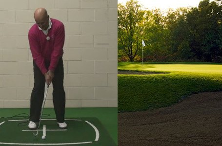 Senior Greenside Bunker Setup Lesson by PGA Teaching Pro Dean Butler