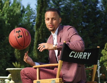 NBA Star and Aid Golfer Steph Curry to Star in Mini-Golf Competition