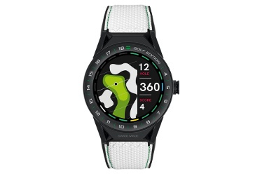 Tag Heur Launches Luxury Shot-Tracking-GPS Golf Watch