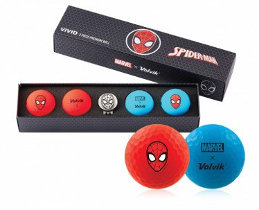 Volvik Launches Wide Range of Golf Balls as per 2019: Limited Edition Vivid golf ball Packs, Marvel x Superhero ball sets and Limited-edition State Pack golf ball sets