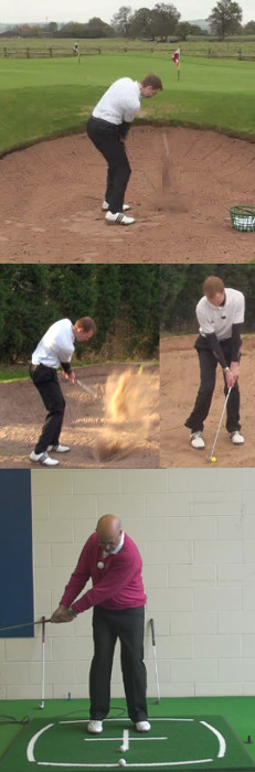 Senior Greenside Bunker Lies Lesson by PGA Teaching Pro Dean Butler