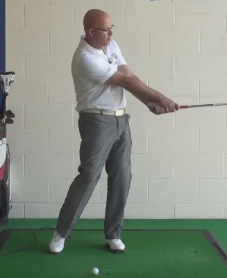 Senior Arm Extension Lesson By Pga Teaching Pro Dean Butler