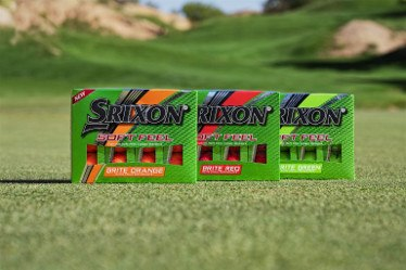 Srixon Reveals Brand New Soft Feel Brite Golf Balls