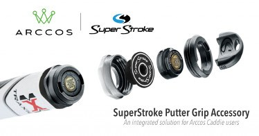 SuperStroke Announces Partnership with Arccos Launch Putter Grip Accessory
