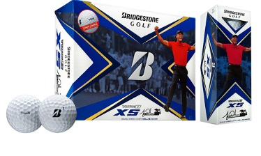 Tiger Woods Tour B XS-TW Golf Ball Released by Bridgestone to Consumers Worldwide