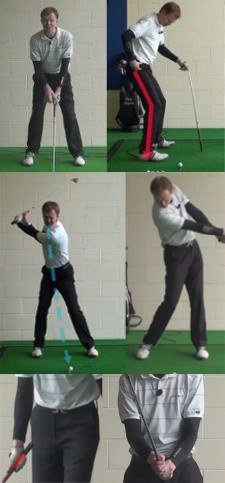 Heel Shots Golf Lesson Chart